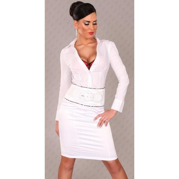 97157b821e8c Sukňa Business-look White Zväčšiť. Zrušiť Zobraziť všetky obrázky