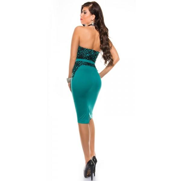 3b44dfac0c2f Spoločenské šaty midi KouCla Mint Zväčšiť. Predchádzajúce. Ďalšie