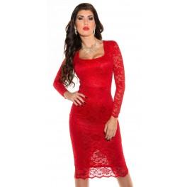 Spoločenské šaty pod kolená Red Zväčšiť. Predchádzajúce. Ďalšie. Zrušiť  Zobraziť všetky obrázky 4bfd69c8e0a
