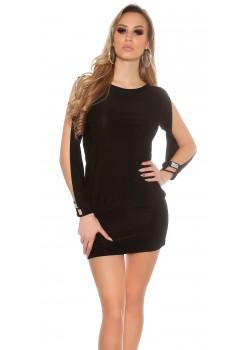3eb001bc4181 Párty šaty Backfree Black · Štýlové šaty s odhalenými ...